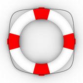 Lifebuoy on a white background. Isolated — Stock Photo