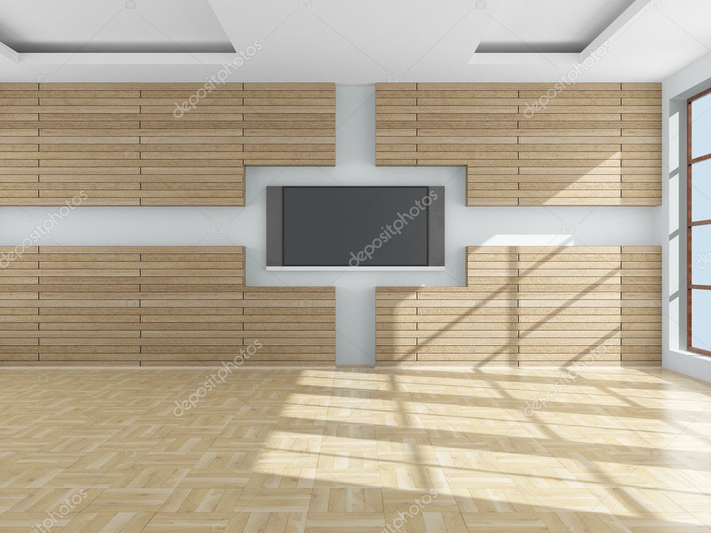 Interior of a living room. 3D image. — Stock Photo #1195914