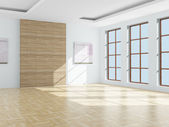 Empty room. 3D image — Stock Photo