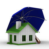 Insurance of habitation — Stock Photo