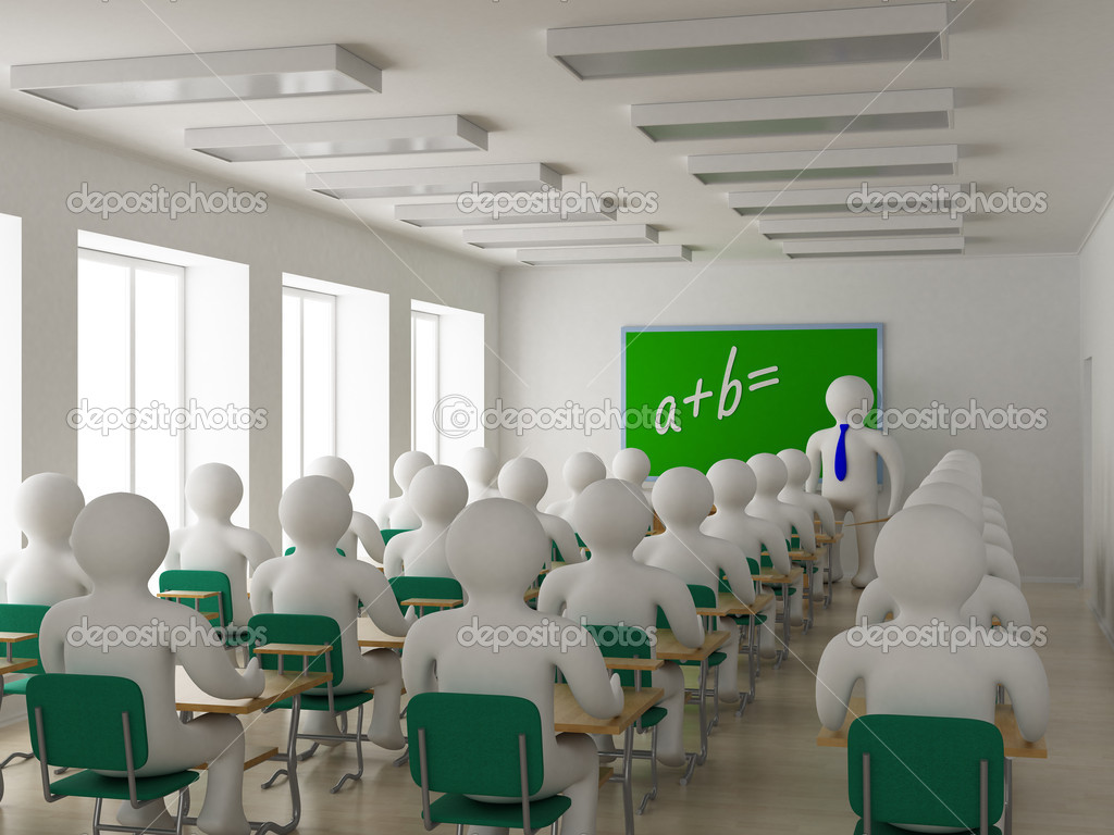 Интерьер класса в школе