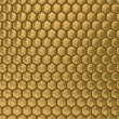 Comb honey. 3D image. Illustrations - Stock Photo