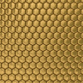 Comb honey. 3D image. Illustrations — Stock Photo