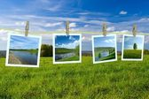 Landschaft Fotos — Stockfoto