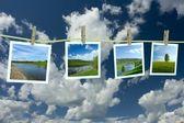 Landscape photographs — Stock Photo