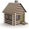 Wooden small house — Stock Photo #1922461