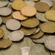Russian metal coins — Stock Photo