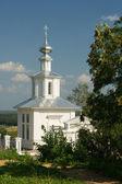 White Christian church — Stock Photo