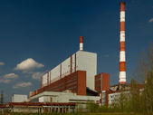 Power station. Industrial production — Stock Photo
