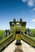 122 mm of cannon A-19 — Stock Photo