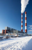 Power station. Industrial production. — Stock Photo