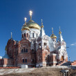Orthodox missionary man monastery — Stock Photo