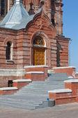 Orthodox missionary man monastery — Stock Photo