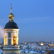 Moscow, Russia, Orthodox Temple at Eveni — Stock Photo