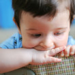 Little boy, soft focus — Stock Photo