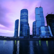 Evening on Moscow-river — Stock Photo #1187411