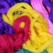 Stock Photo: Varicolored threads