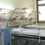 chambre d'hôpital avec cardiologie equipme — Photo