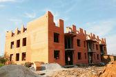 Yeni bina i̇nşaatı — Stok fotoğraf