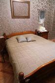 Chambre à coucher confortable — Photo