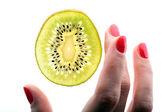 Study sample kiwi — Stock Photo