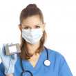 Female medical specialist — Stock Photo