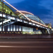 Night view bridge in the Moscow — Stock Photo #1356343