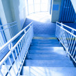 Interior with stairway — Stock Photo