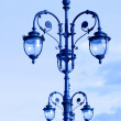 Street lamps in the art deco style — Stock Photo
