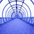 Stock Photo: Blue corridor