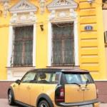 Yellow car — Stock Photo #1358849