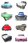 American car collection — Foto de Stock