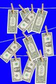 Drying the Money — Stock Photo