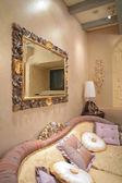 Fragment of the luxurious interior — Stock Photo