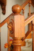 Fragment of an Embellishment Banisters — Stock Photo