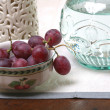 Still life with Grape — Stock Photo
