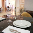 Stock Photo: Dinning-room in classical style