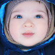 Adorable baby, soft focus — Stock Photo #1375435