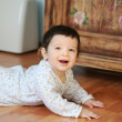 Smiling baby, soft focus — Stock Photo