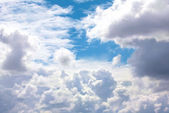 Big beautiful clouds — Stock Photo