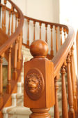 Banisters of Stairway — Stock Photo