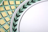 Ceramic Plate, Dishes — Stock Photo