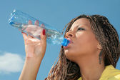 African thirst — Stock Photo