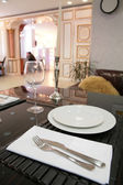 Dinning-room in classical style — Stock Photo