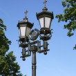 Old-time Moscow Street Lamp — Photo