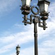 Old-time Moscow Street Lamps — Stock Photo