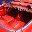 Interior of the Red Car 60-70 — Stock Photo #1383108