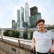 Tourist in Moscow - Stock Photo