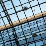 ������, ������: Transparent ceiling with orange stripe