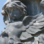 Angel, Antique Sculptural Composition — Stock Photo #1383642